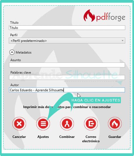 Configurar una impresora PDF