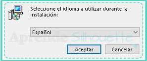 Seleccionar idioma en el que se instalara la Impresora PDF