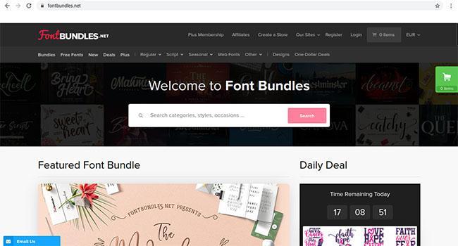 Font Bundles
