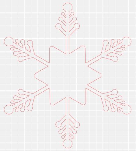 copo de nieve silhouette studio